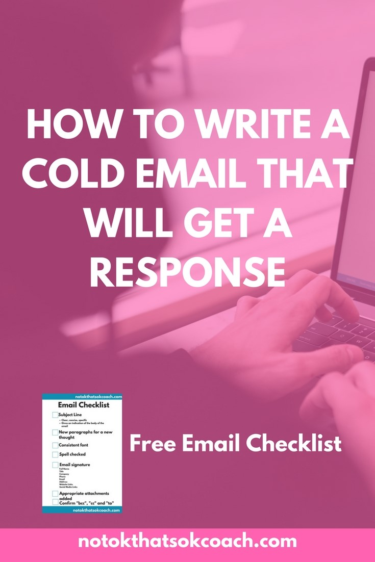 How to Write a Cold Email That Will Get a Response