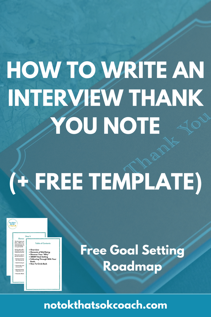 How to Write an Interview Thank You Note (+ Free Template)
