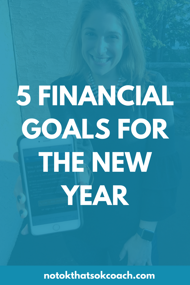 5 Financial Goals For The New Year
